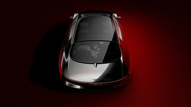 Aston Martin Lagonda Vision concept - rear above