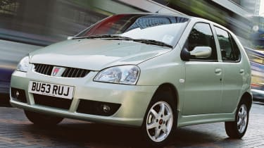 Top 10 worst cars - Rover CityRover front quarter