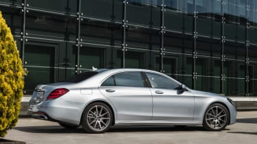 New Mercedes S-Class - rear static