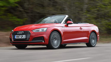 Audi A5 convertible - tracking