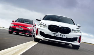 BMW 128ti vs Volkswagen Golf GTI