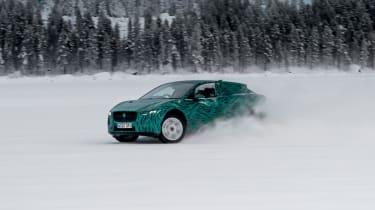 Jaguar I-Pace - drifting