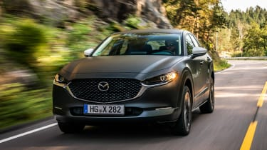 Mazda EV prototype - front tracking