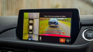 Mazda 6 Kuro Edition - reversing camera