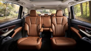 Subaru Ascent Touring - back seats