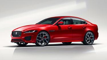 Jaguar XE - studio side
