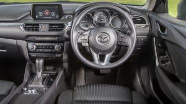 Mazda 6 Tourer 2.2D interior
