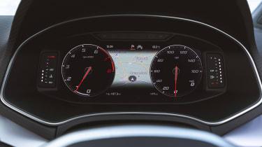 SEAT Ibiza facelift - dials
