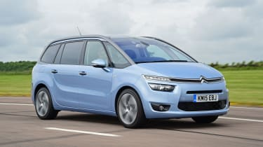 Citroen Grand C4 Picasso - front tracking