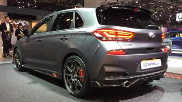 Hyundai i30 N Project C - Frankfurt rear