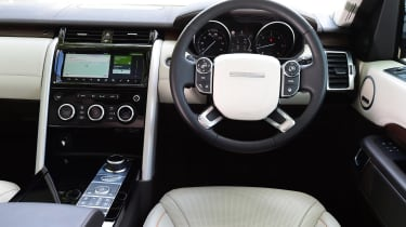 Land Rover Discovery TD6 - dash