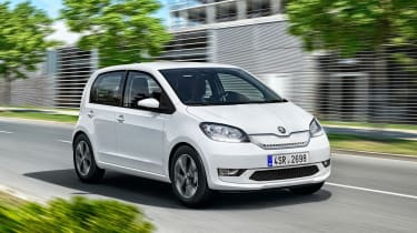 Skoda Citigo e iV - front action