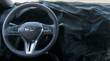 Infiniti QX50 prototype - interior