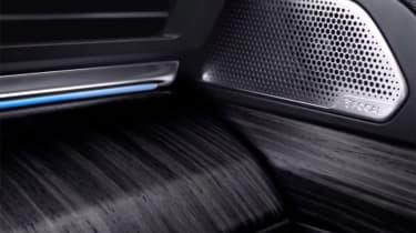 Peugeot 508 leaked - interior detail