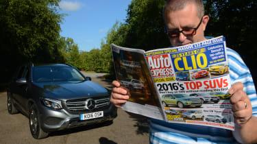Long-term test review: Mercedes GLC - first report header
