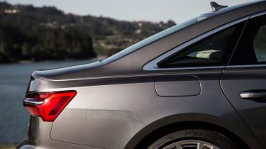 Audi A6 - rear profile