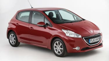 Used Peugeot 208 - front