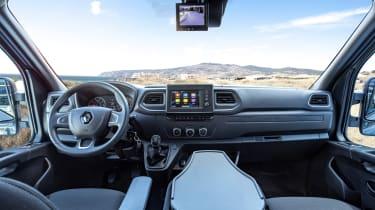2019 Renault Master interior