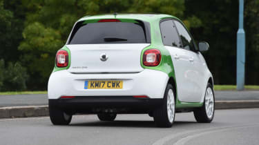 Smart ForFour ED - corner rear