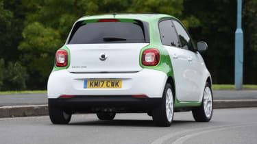 Smart ForFour ED - corner rear