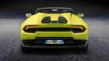 Lamborghini Huracan rear-wheel drive Spyder 7
