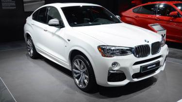 BMW X4 M40i - front quarter show