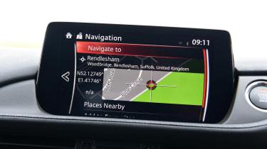Mazda 6 Tourer screen