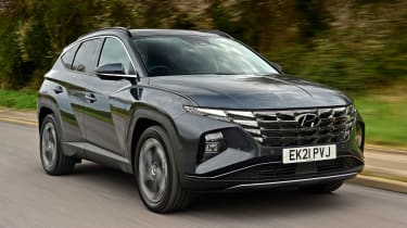 Hyundai Tucson Ultimate Hybrid - first report front tracking