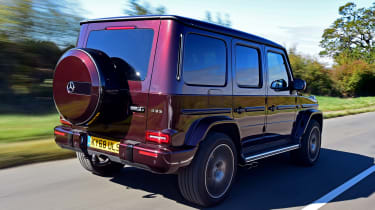 G 63 rear tracking