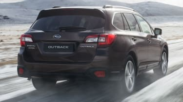 2018 Subaru Outback rear