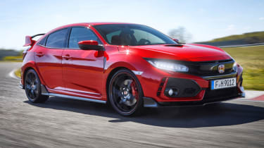 Best performance cars 2017/2018 - Honda Civic Type R