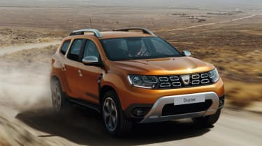 New Dacia Duster - front