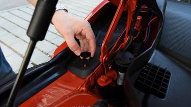 MINI Cooper 5-Door - fixing