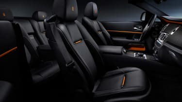 Rolls-Royce Dawn Black Badge - seats