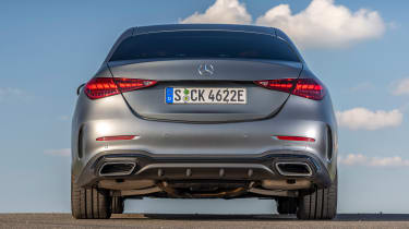 Mercedes C-Class - full rear