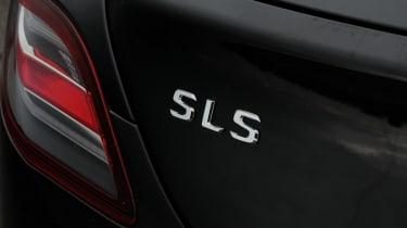 Mercedes SLS AMG badge