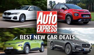 Best new car deals - header