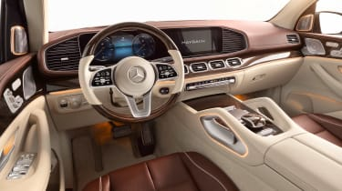 Mercedes-Maybach GLS - cabin