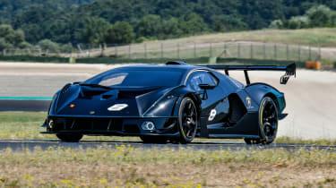 New Lamborghini Essenza SCV12 2021 review - front