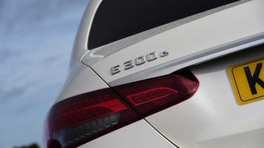 Mercedes E-Class - rear badge