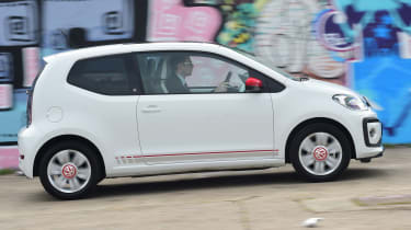 Volkswagen up! - long termer first report side