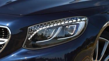 Convertible megatest - Mercedes S 500 Convertible - headlight