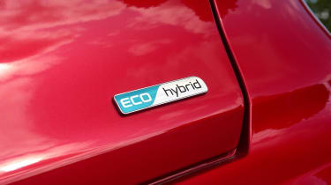 New Kia Niro Hybrid - Eco hybrid badge