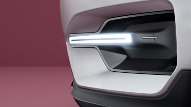 Volvo 40.1 Concept (Volvo XC40) - front sidelight detail