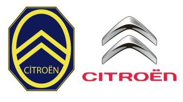 Citroen badges old and new