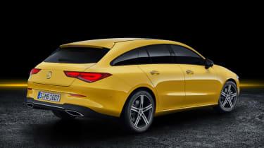 Mercedes CLA Shooting Brake - studio rear