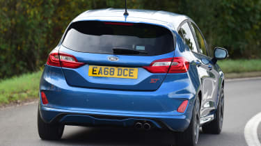ford fiesta st long termer rear