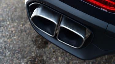 Porsche Cayenne Turbo - exhausts