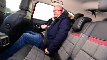 Citroen C5 Aircross PHEV long termer - first report rear seats