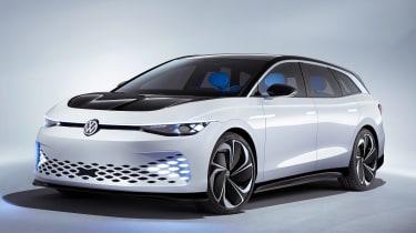 Volkswagen ID. Space Vizzion - front